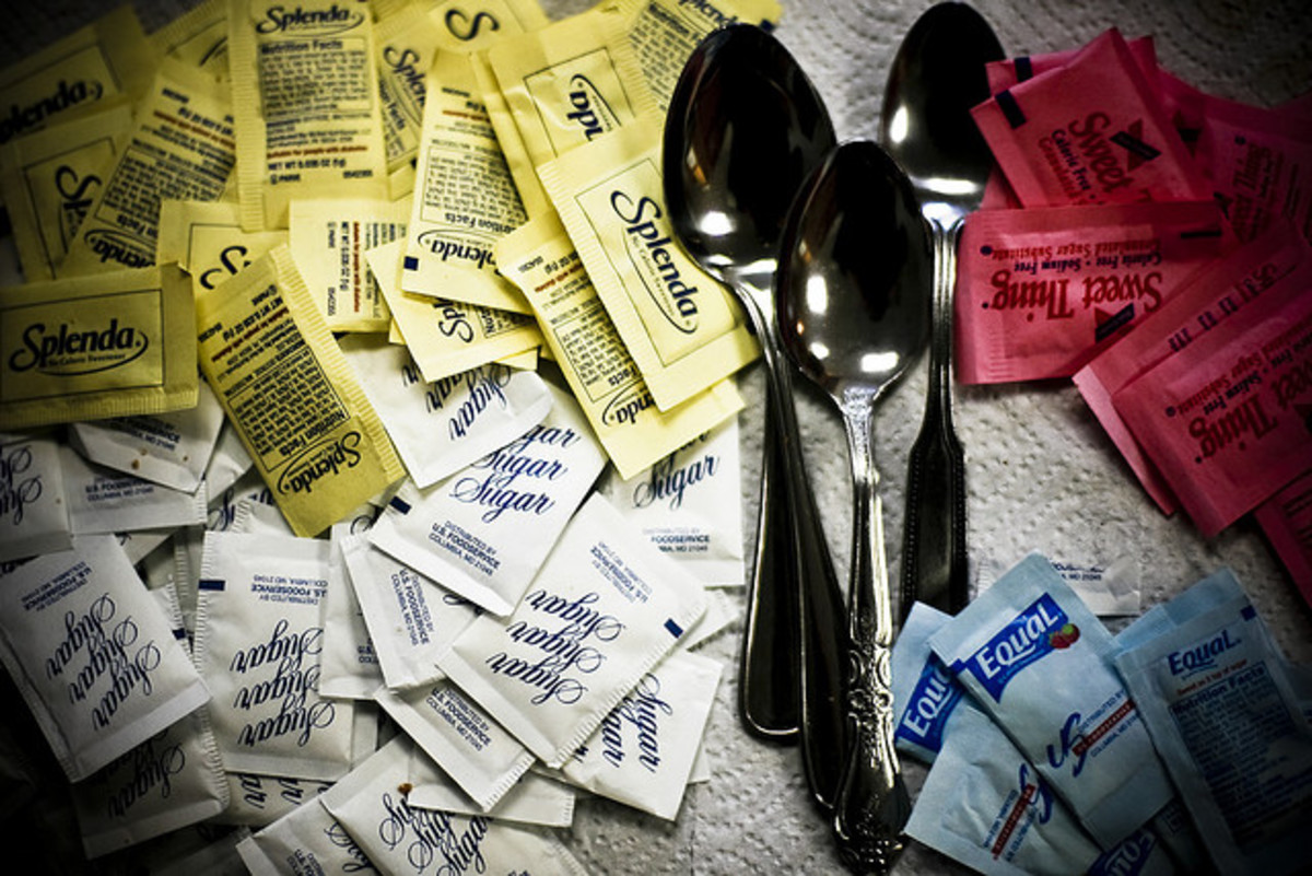 The War of the Sweeteners! So many have come and gone. Stevia and Splenda are the main players now...