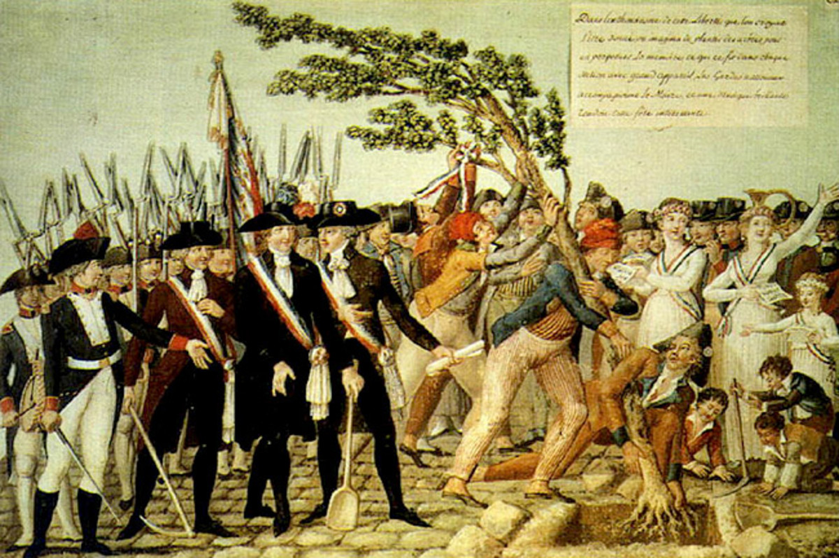 The Planting of a Tree of Liberty in Revolutionary France (1790)