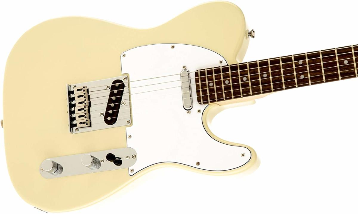 The Squier by Fender Standard Telecaster is one of the best electric guitars under $300.