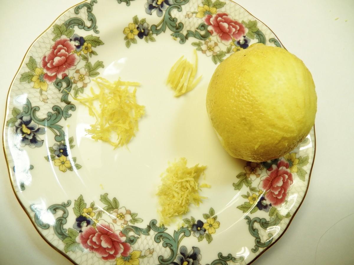 Zesting Lemons Without a Zester