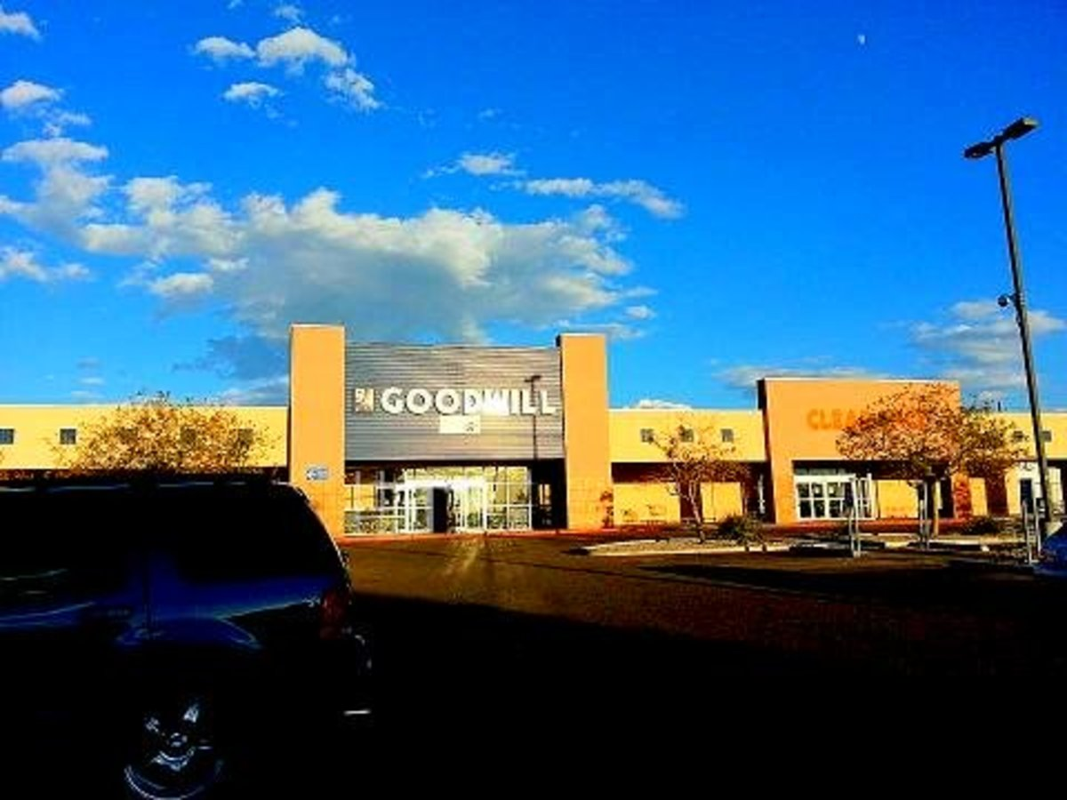 Goodwill in Albuquerque, New Mexico