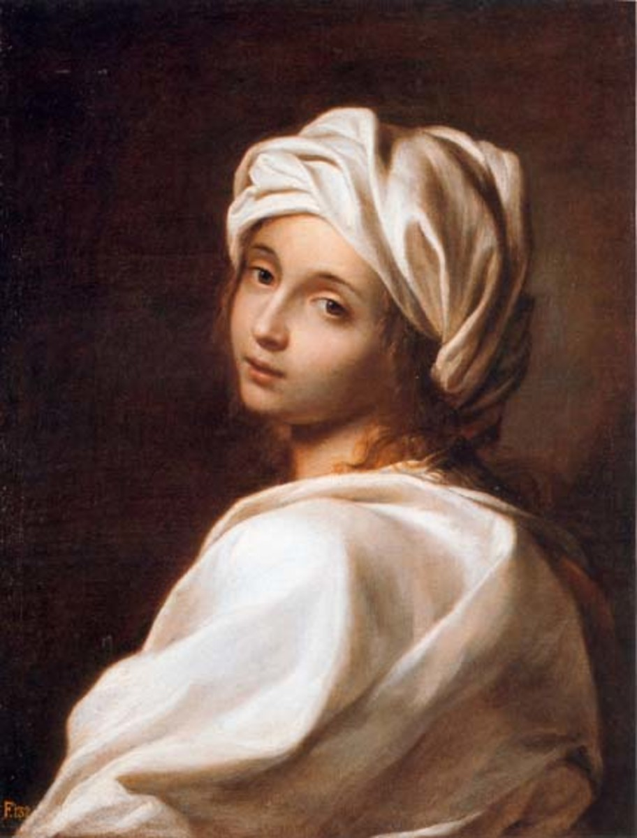 Painting of Beatrice Cenci of doubtful attribution (see below)