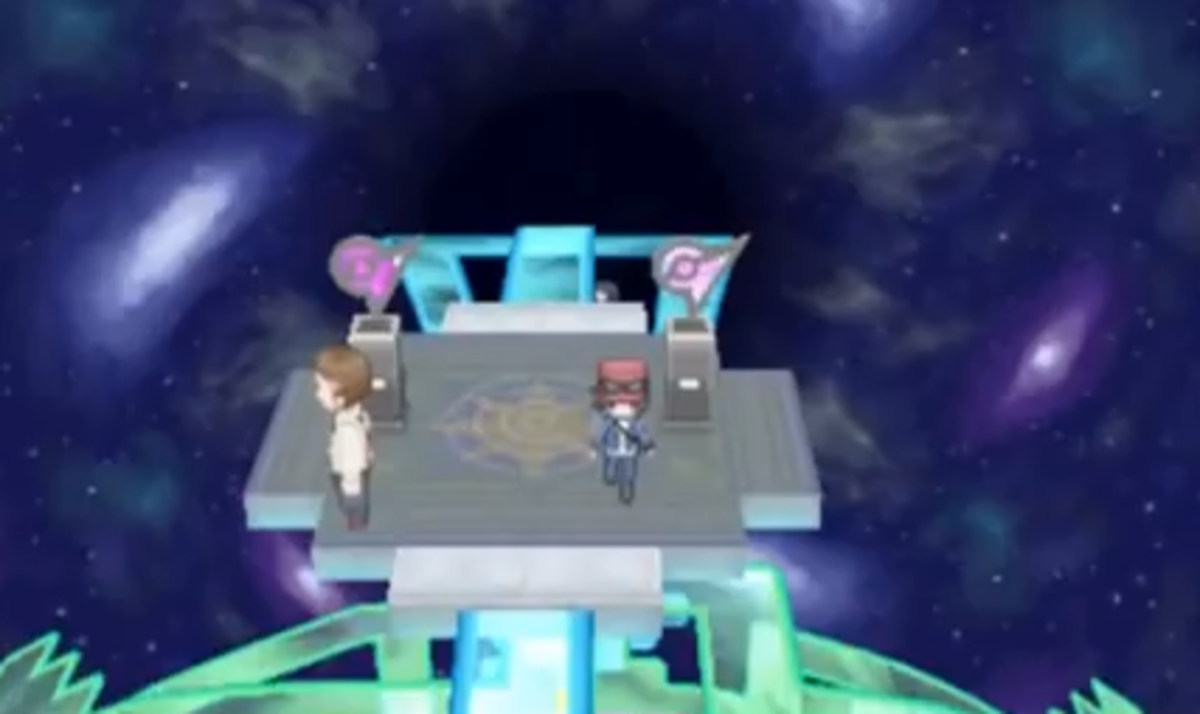 Pokémon X and Y owned and copyrighted by Nintendo. Images used for educational purposes only.