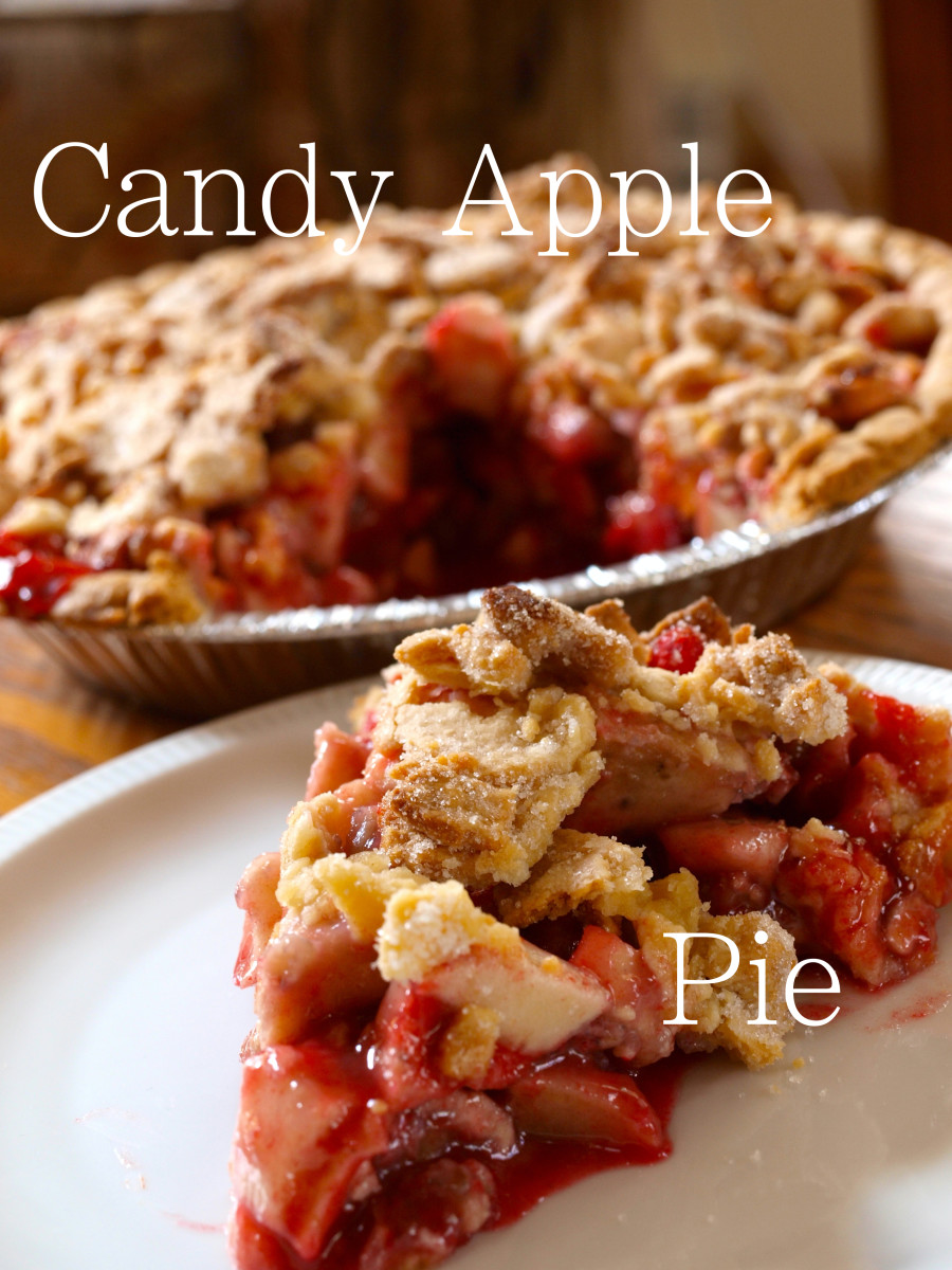 Candy apple pie tastes just like a candy apple from the fair!