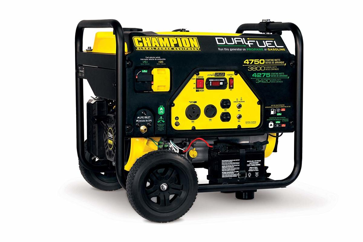 Champion 3800 Watt Portable Generator - Pros and Cons From