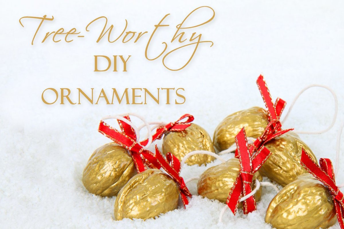 13 Tree-Worthy DIY Christmas Ornaments
