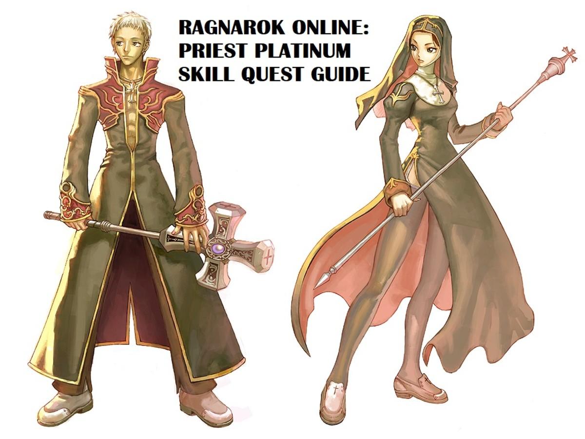 Ragnarok Online: Priest Platinum Skill Quest Guide