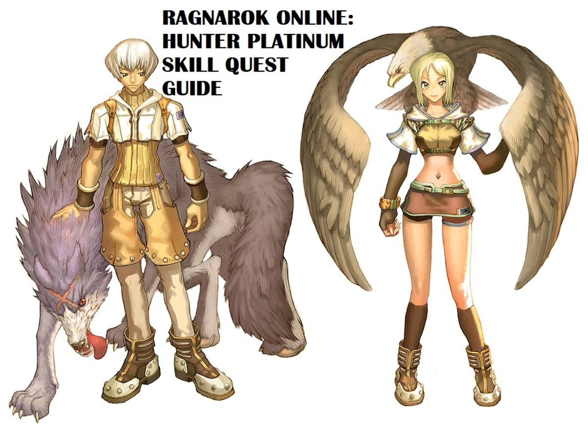 "Learn the platinum skills for the Hunter class in ""Ragnarok Online"" with the help of this guide."