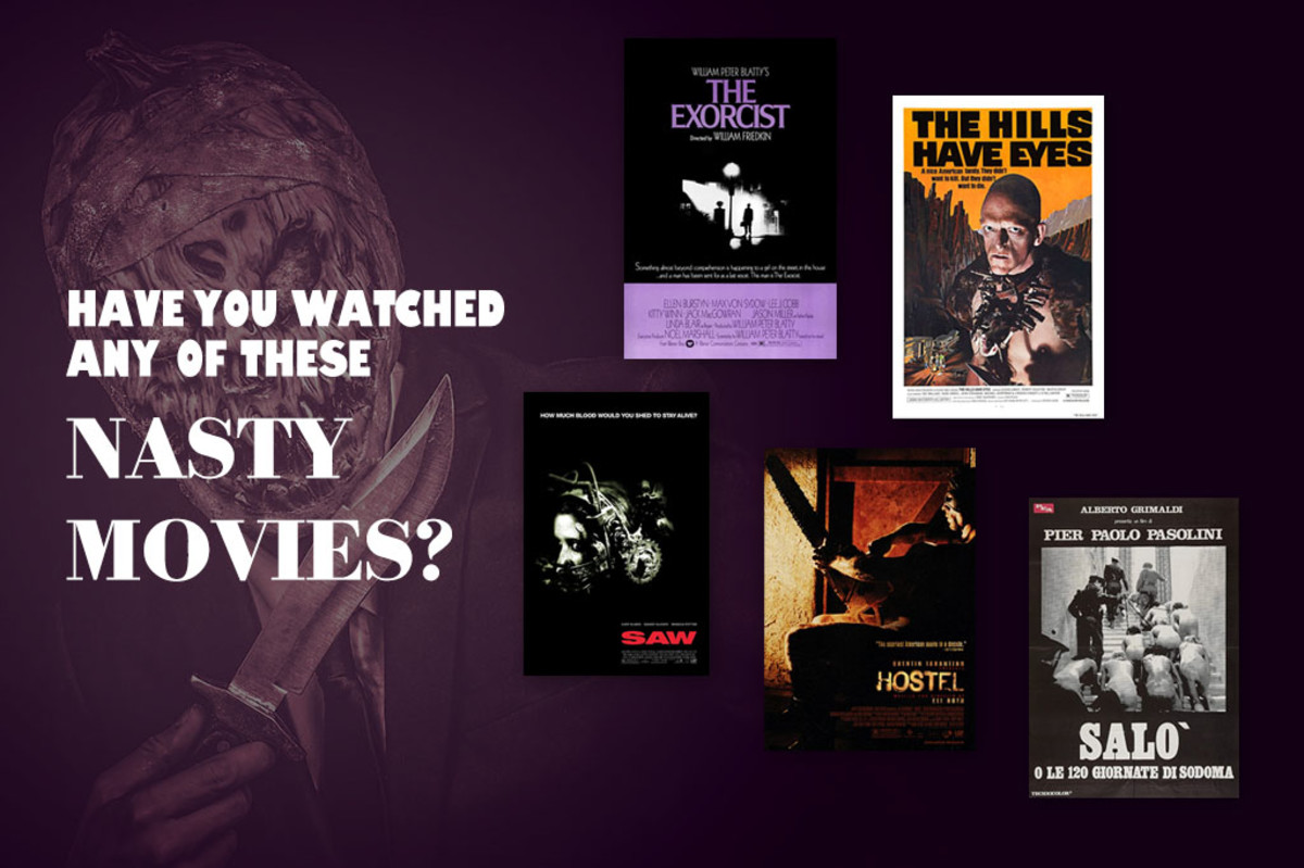 Five nasty and notorious movies, that are more philosophical that you'd expect.