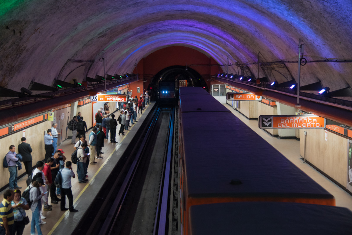 Riding the metro in Mexico City can be hectic, but it's also the cheapest (and often the most exciting!) way to get from point A to point B.