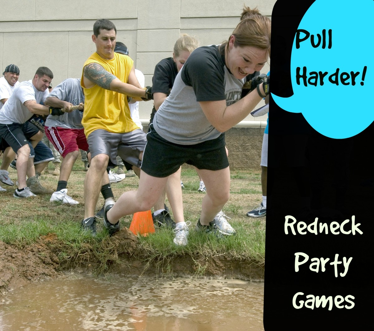 redneck party games hubpages