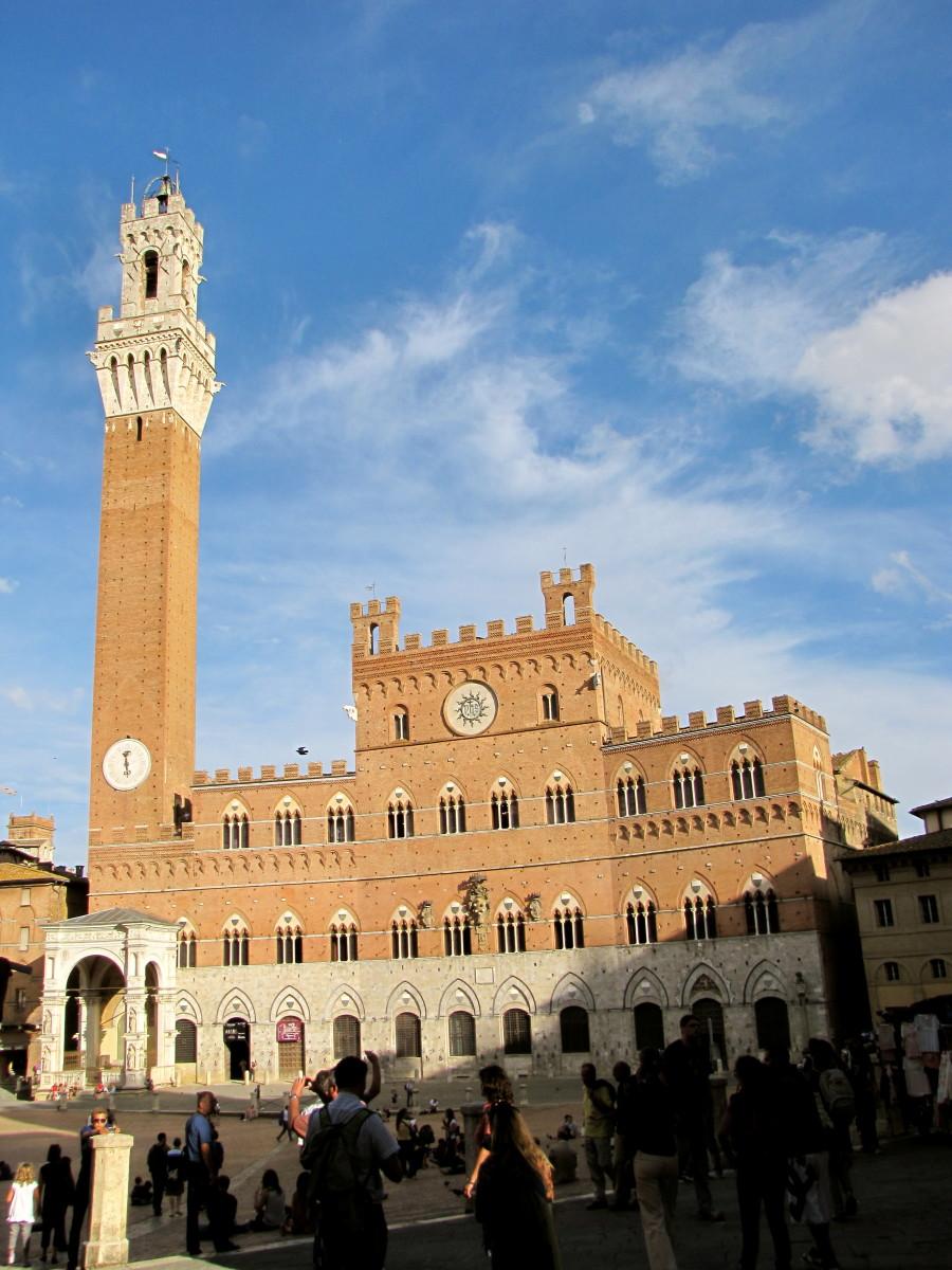 Torre del Mangia and the Palazzo Pubblico