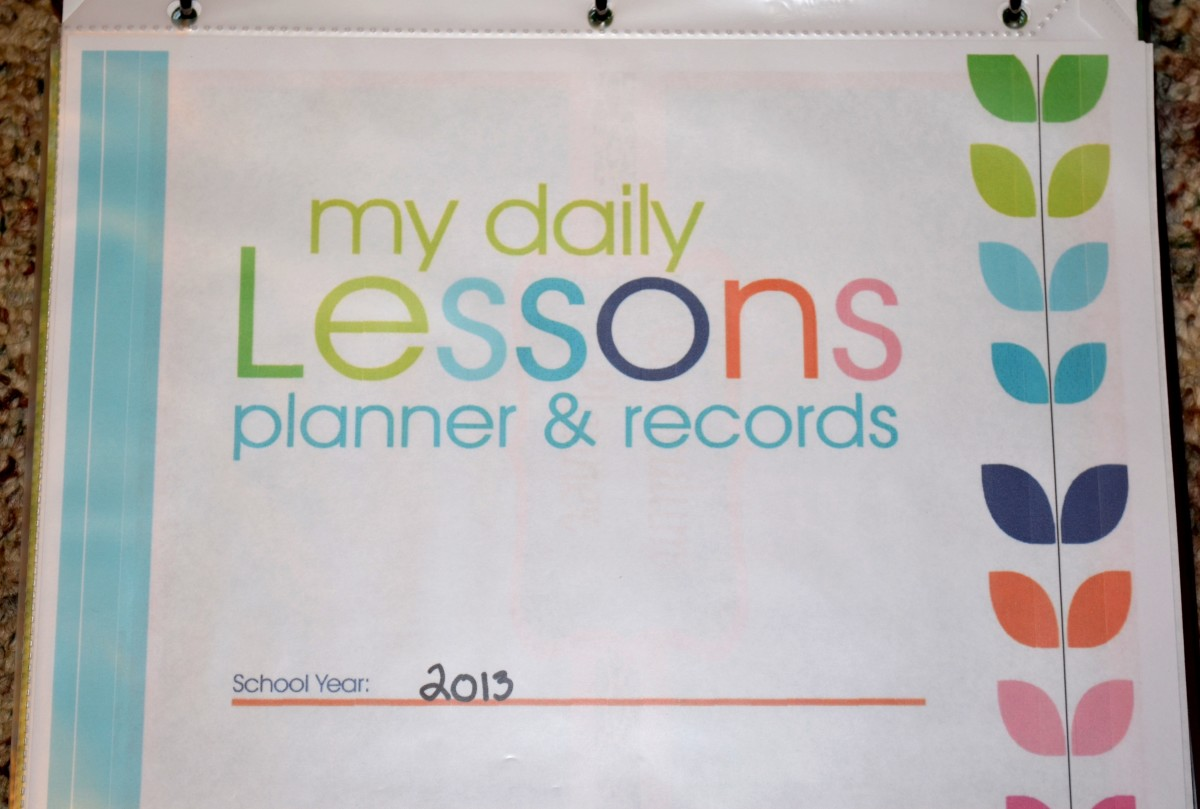 Lesson Planner for Homeschoolers