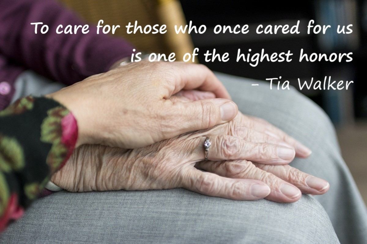 It is an honor to care for those who cared for us.