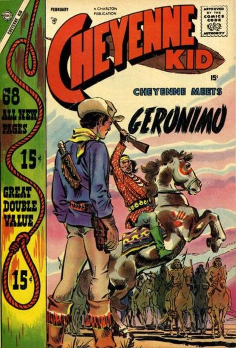 This was from a 1958 issue of the Cheyenne Kid, a product of Charlton Comics, now a product of DC Comics.