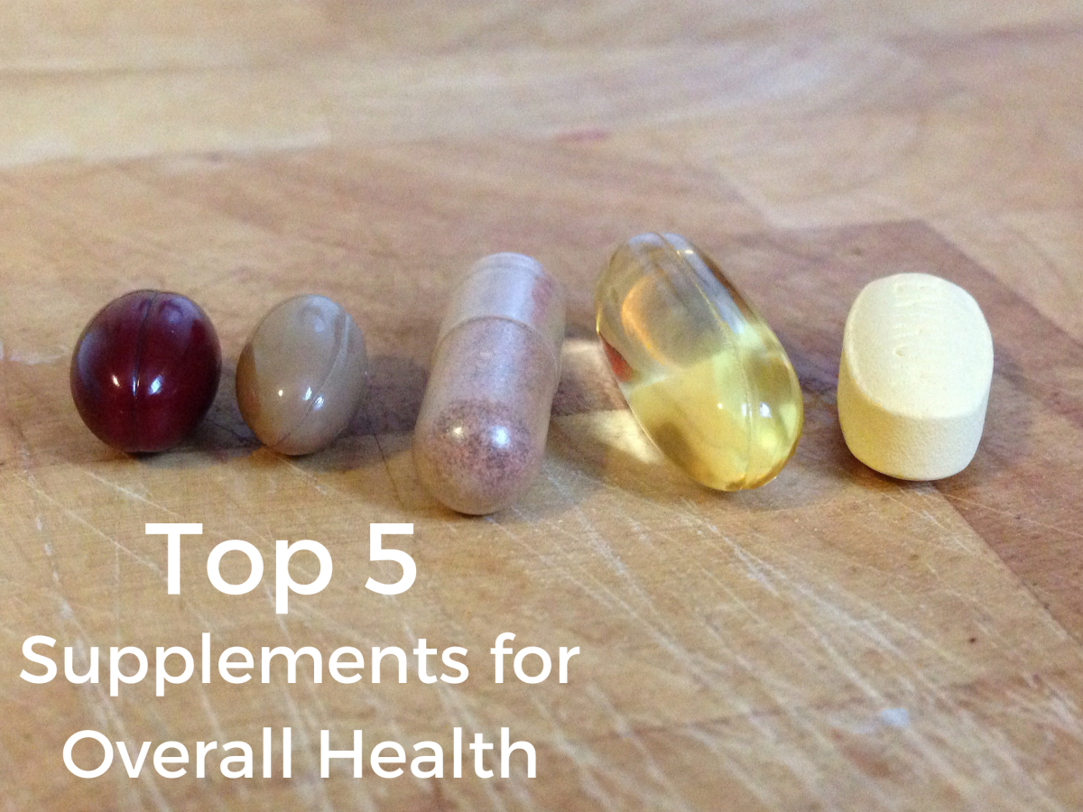 Top 5 Supplements for Better Health