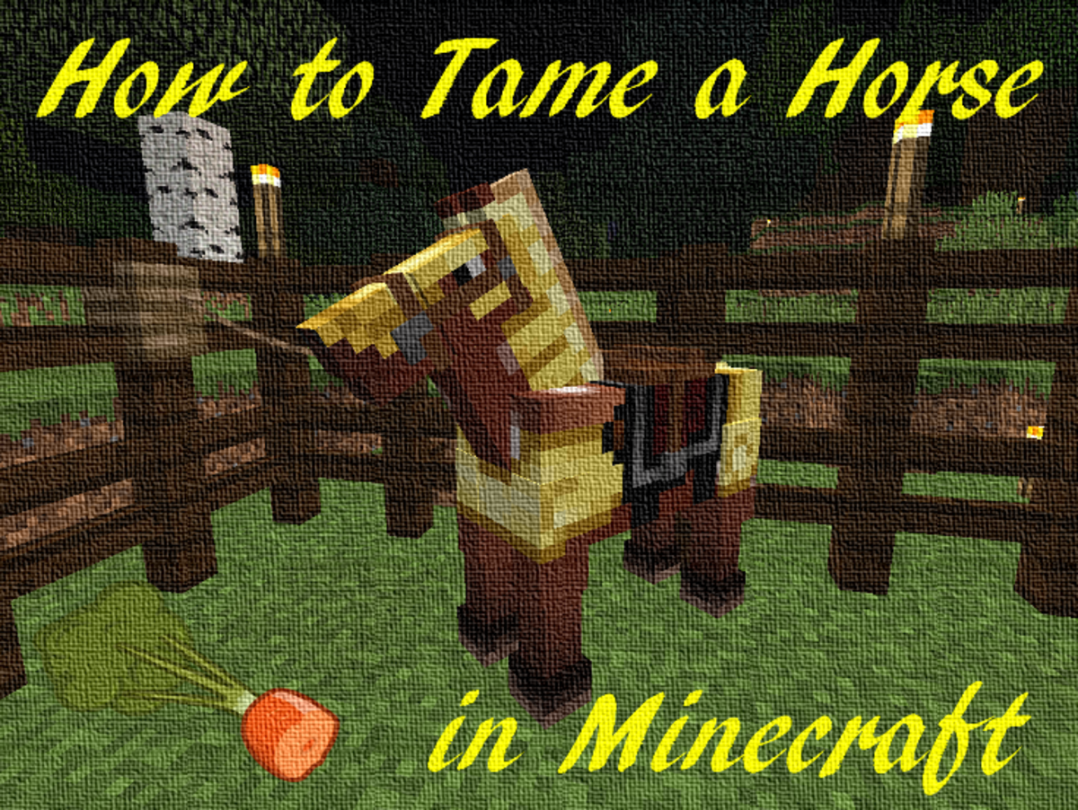 Learn how to tame your own horse, ride them, breed them and more!