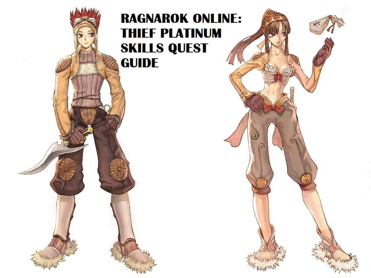 Ragnarok Online Thief Platinum Skills Quest Guide