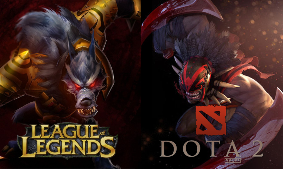 dota 2 vs league of legends lol levelskip