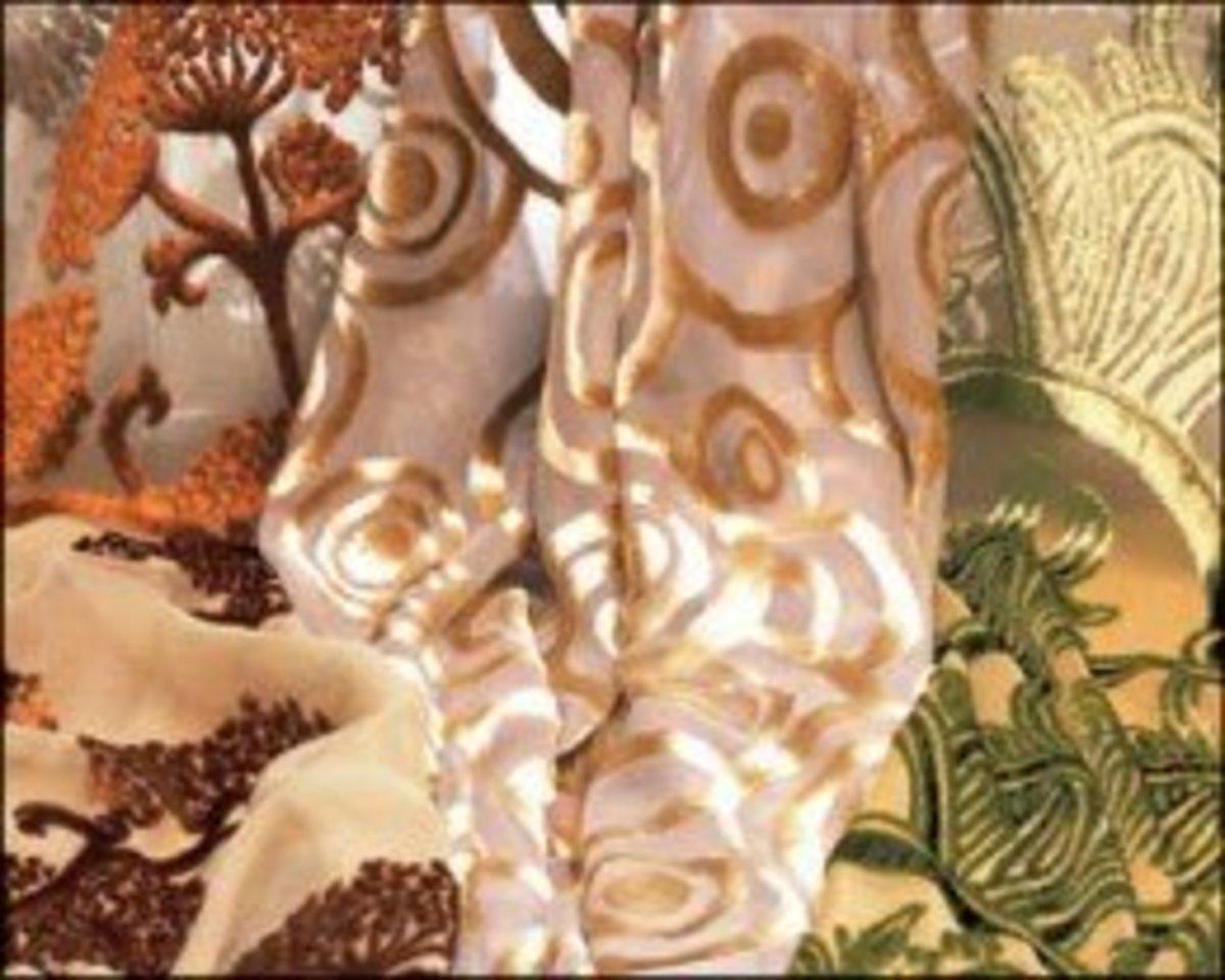 Devoré Velvet Fabric - Making Your Own Burnout Textiles