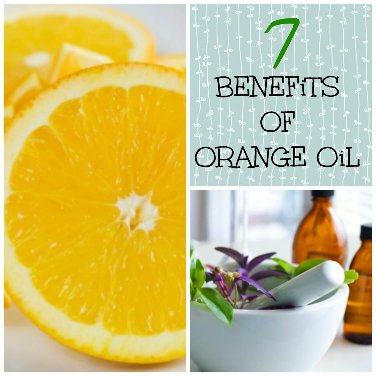 Essential Oils: 7 Benefits of Orange Oil