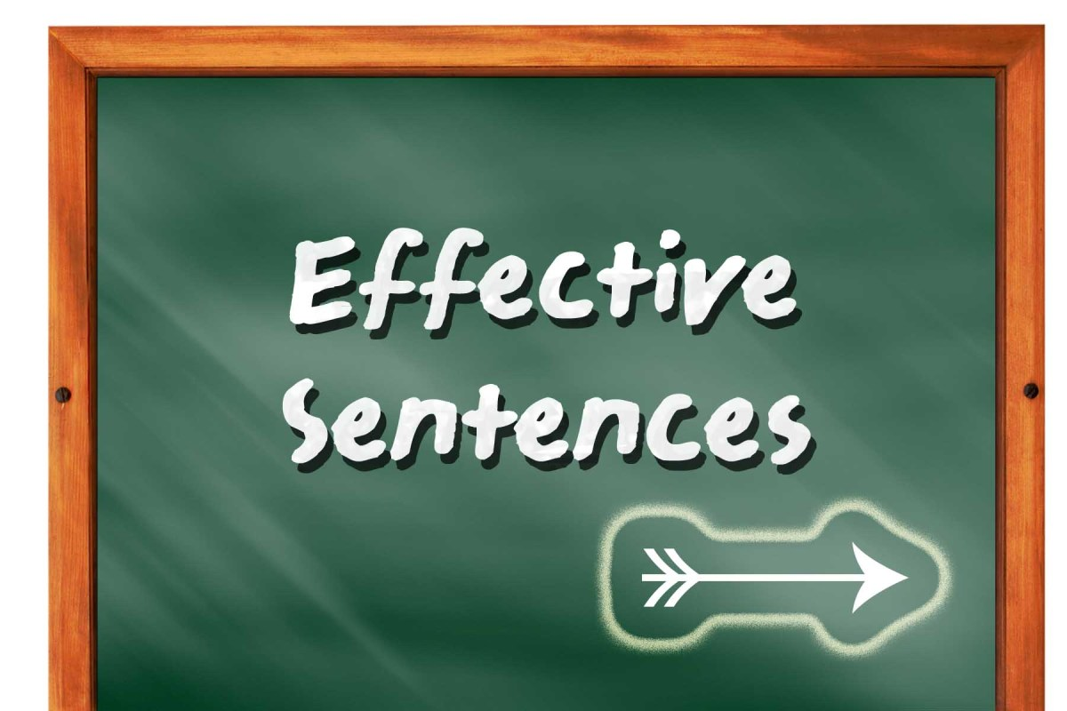 Writing Effective Sentences in Your English Essay