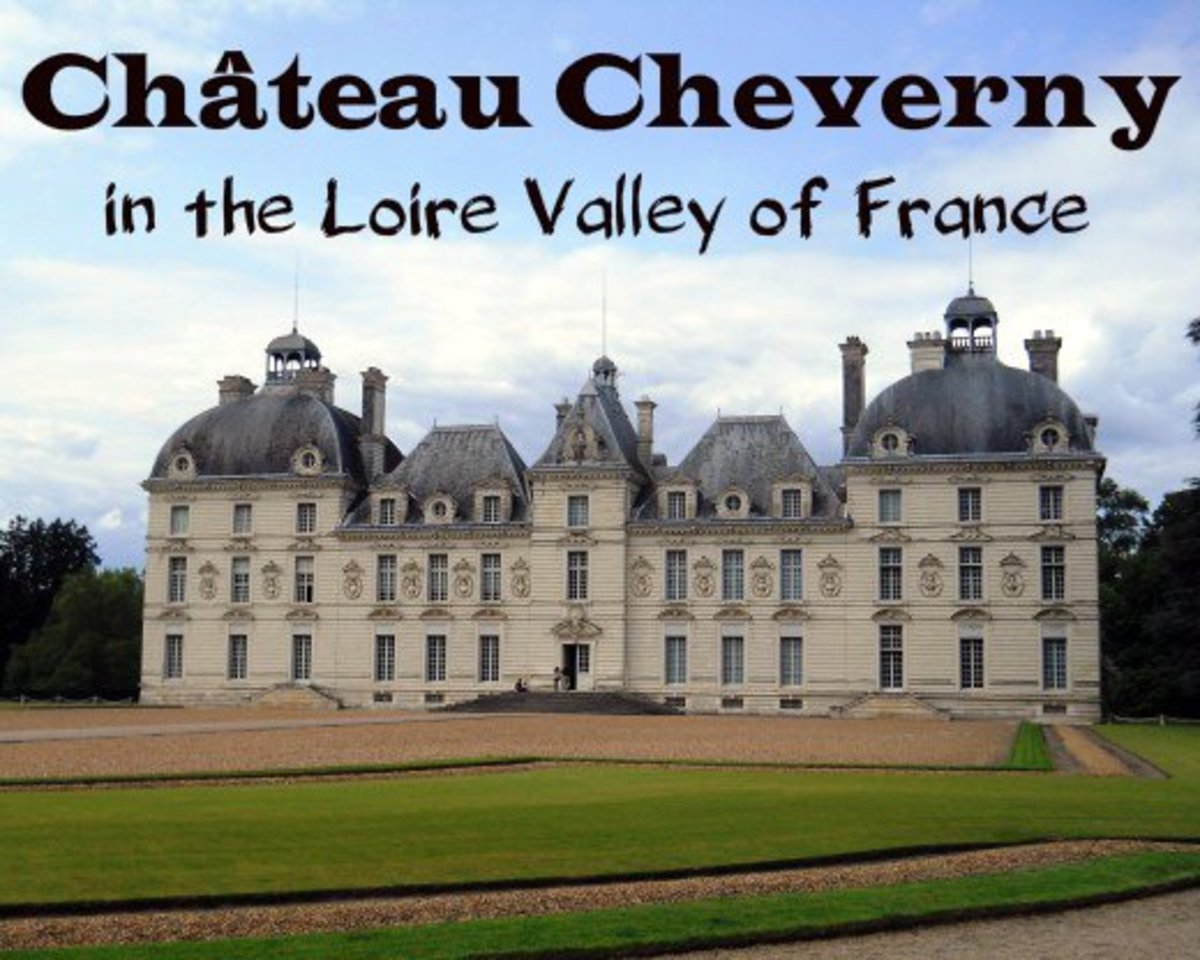 Fit For Royalty:  Château Cheverny in the Loire Valley of France