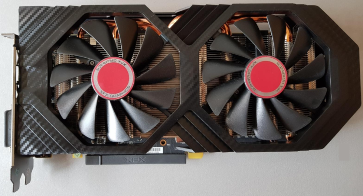 AMD's RX 580 is our target for our $500 PC and puts us on par with the Xbox One X.