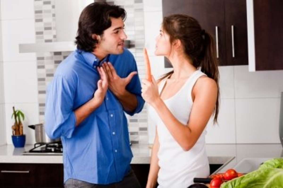 Volatile couples have frequent passionate arguments.