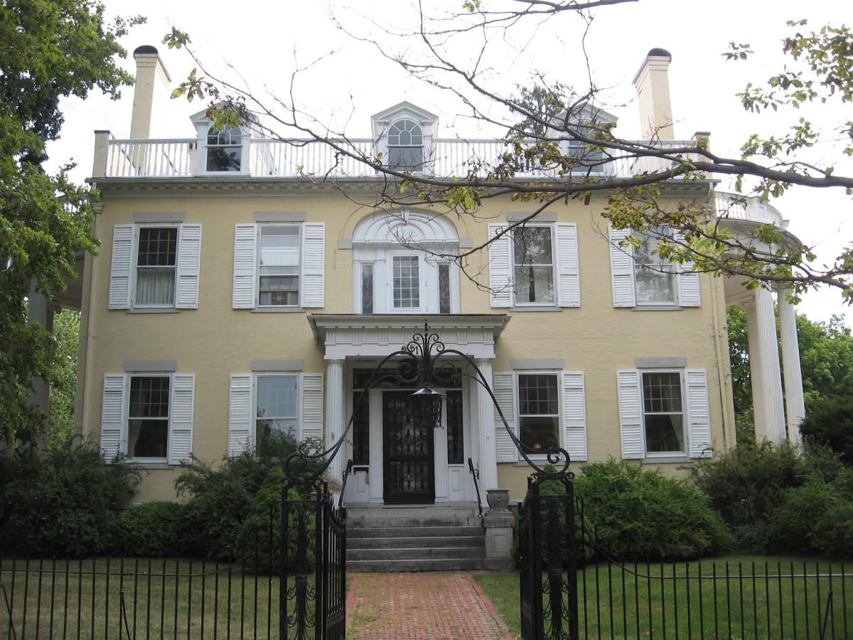 Garlock House at 211 N. Main St. in Canandaigua, New York