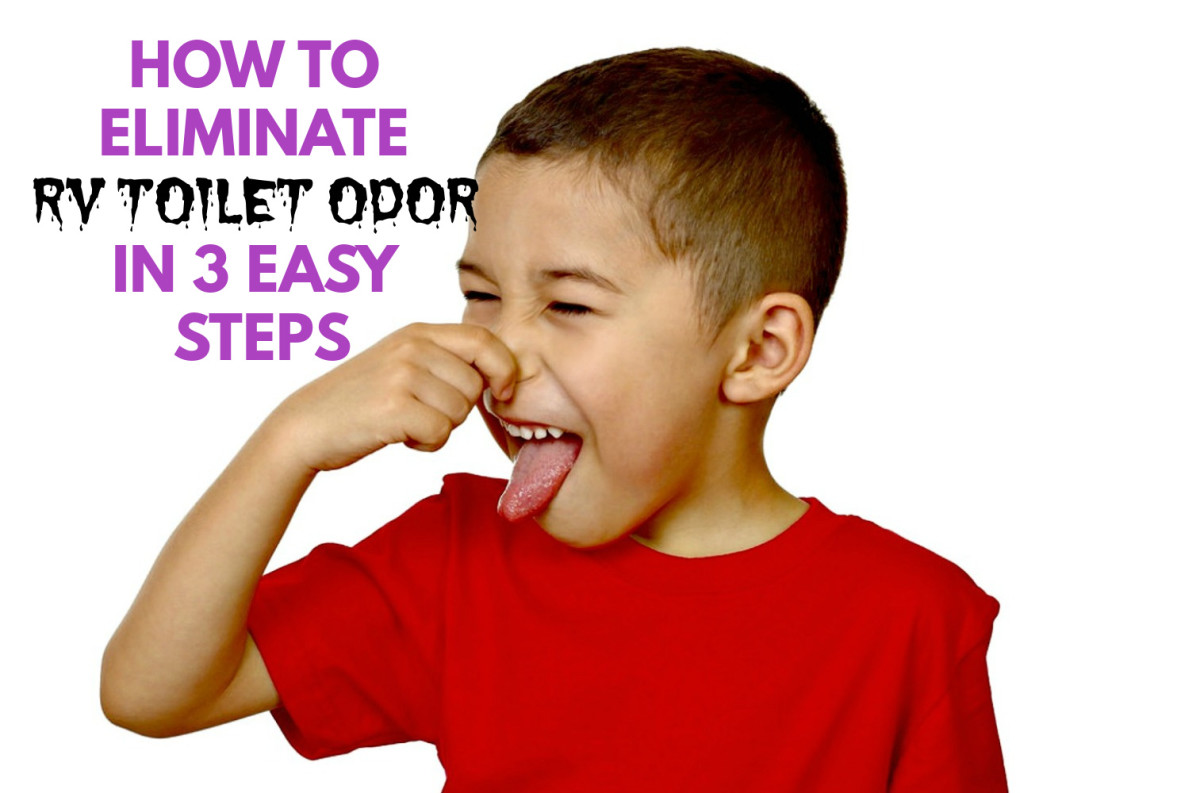 How to Get Rid of RV Toilet Odor in 3 Easy Steps
