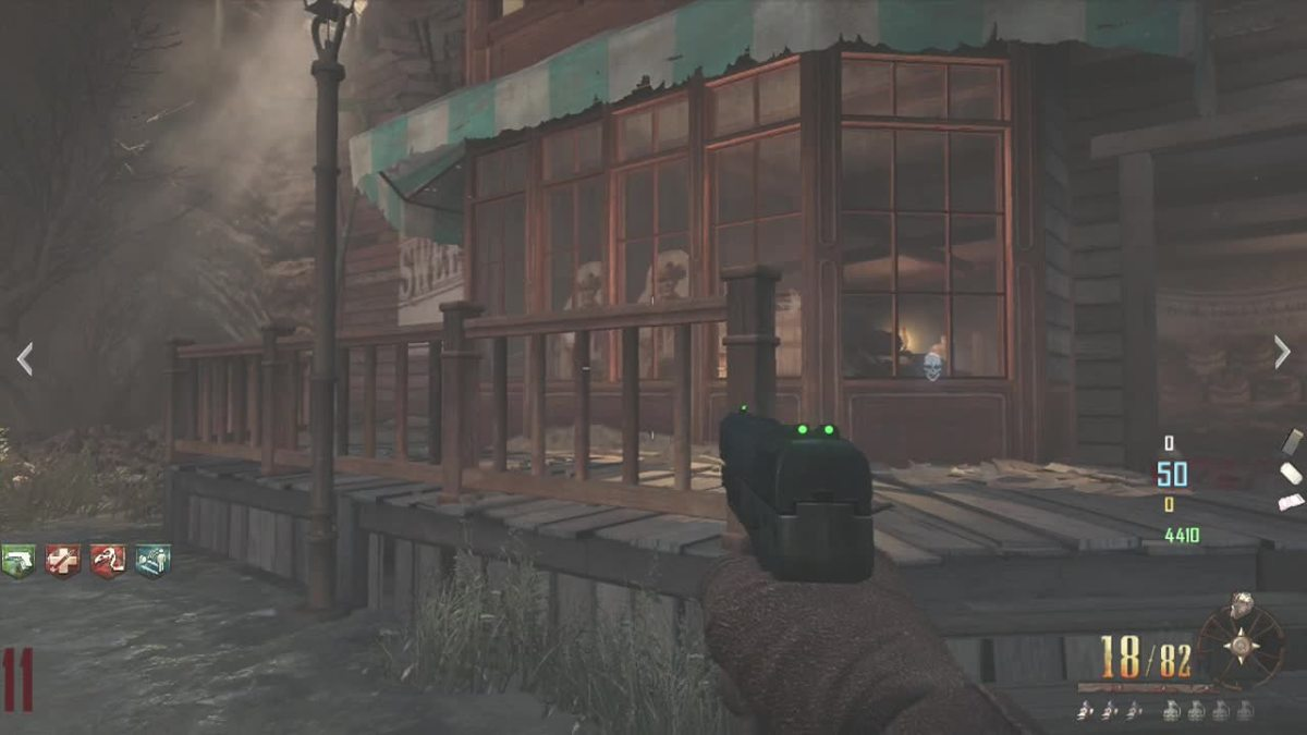Sharpshooter in Buried (Easter Egg Step) - Call of Duty, Black Ops 2, Zombies