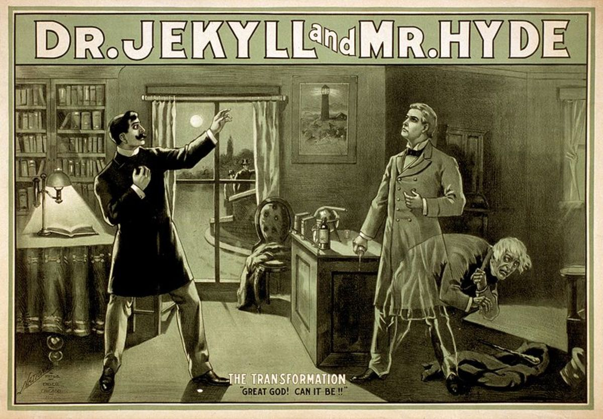 """Jekyll and Hyde """"The Transformation"""""""