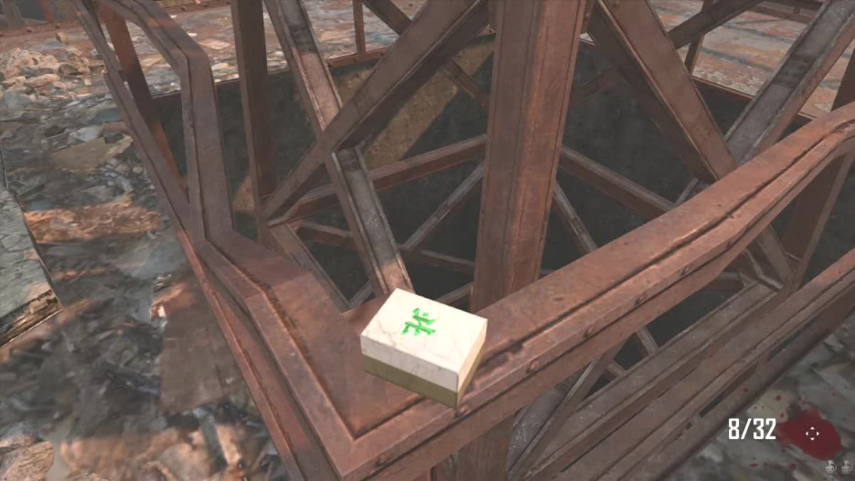 The North Mahjong Tile is always on the Tower.