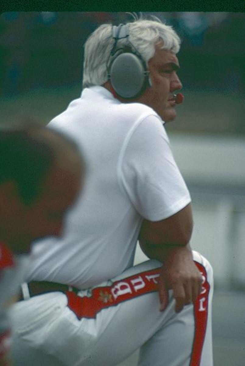 Junior Johnson had some cheating scandals but mostly didn't get caught.