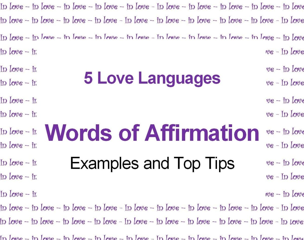 Love languages words of affirmation ideas