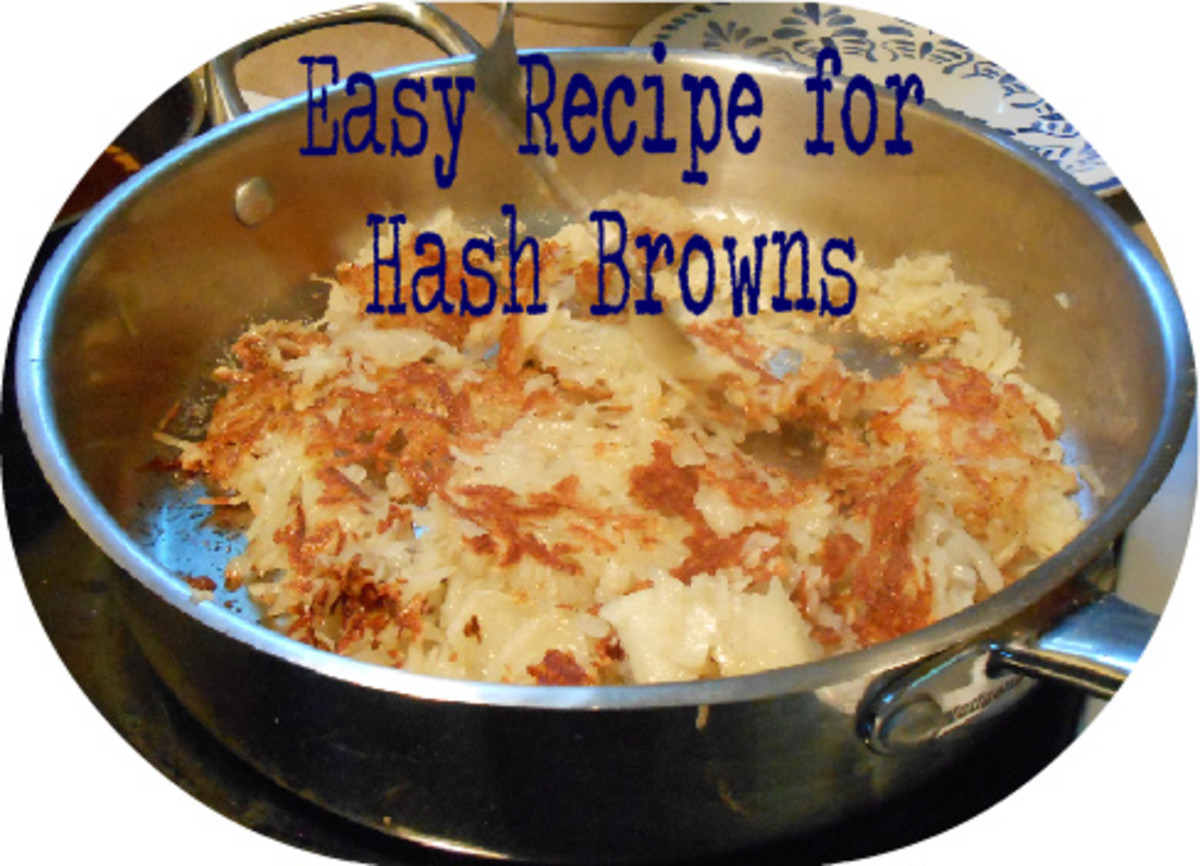 Learn to make crispy golden hash browns with this easy recipe.  It makes perfect hash browns everytime!