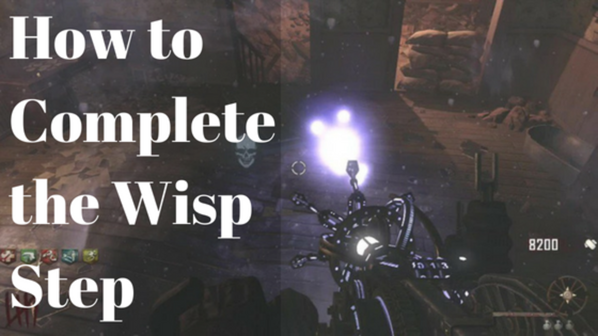 The Wisp in Buried (Mined Game Easter Egg Step):