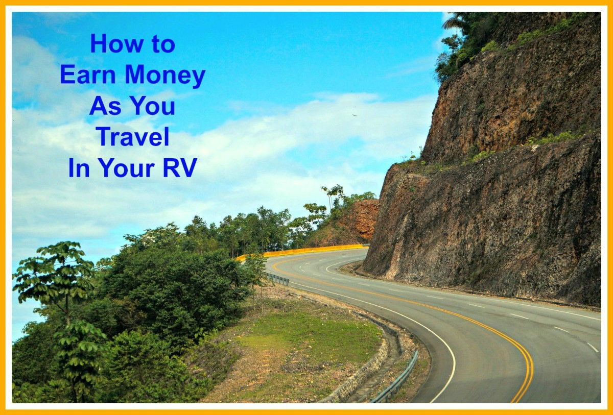 How to earn money as you go to help pay for your RV vacations.