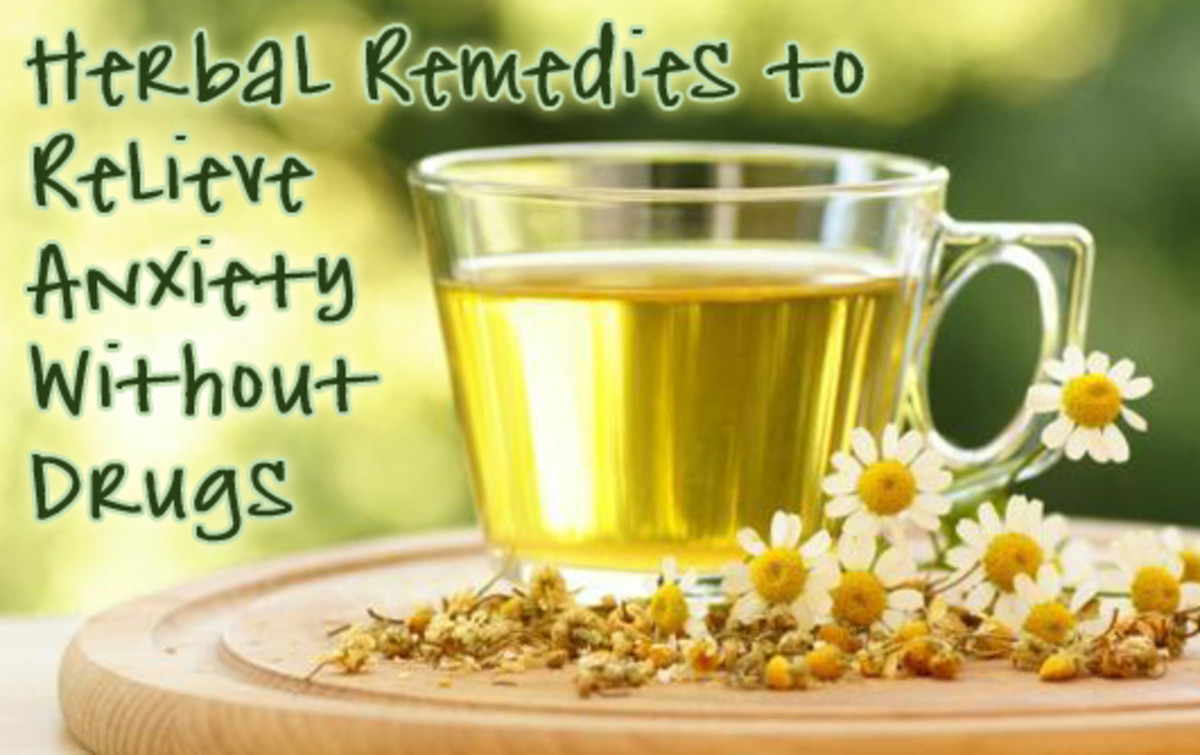 Herbal Remedies for Relief From Anxiety Without Drugs