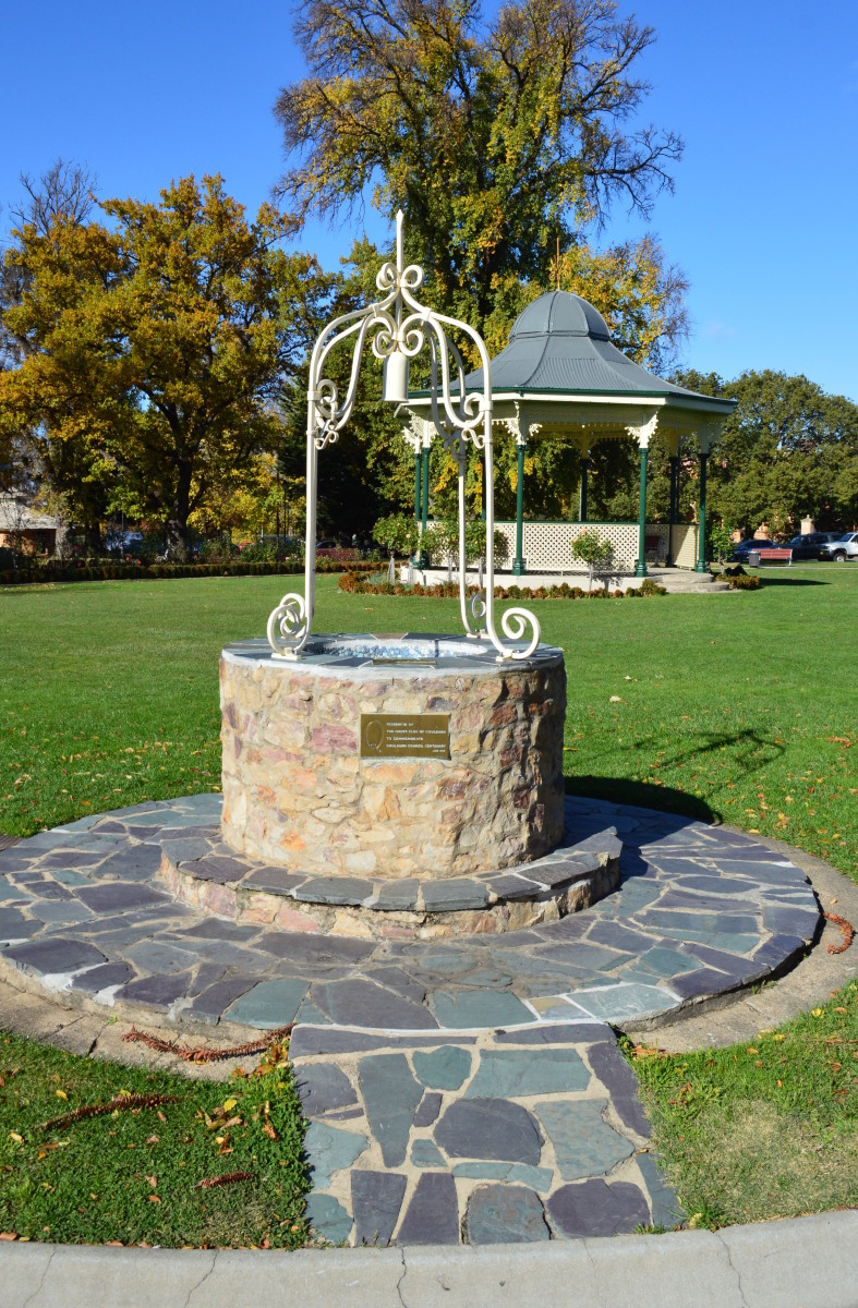 The Wishing Well at Belmore Park in New South Wales.