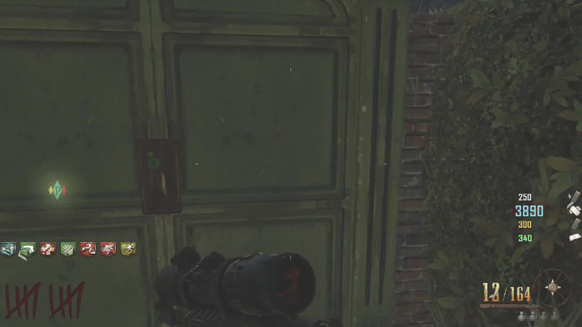 The Levers in Buried (Richtofen Easter Egg Step) -