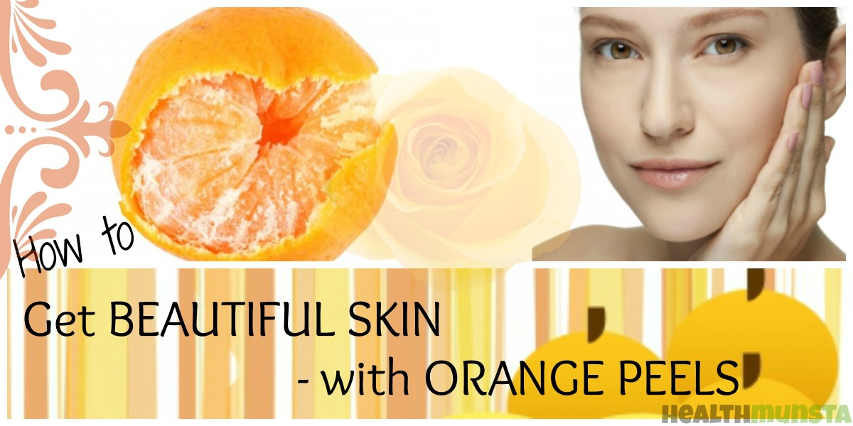 Orange Peel Face Masks for Glowing Skin