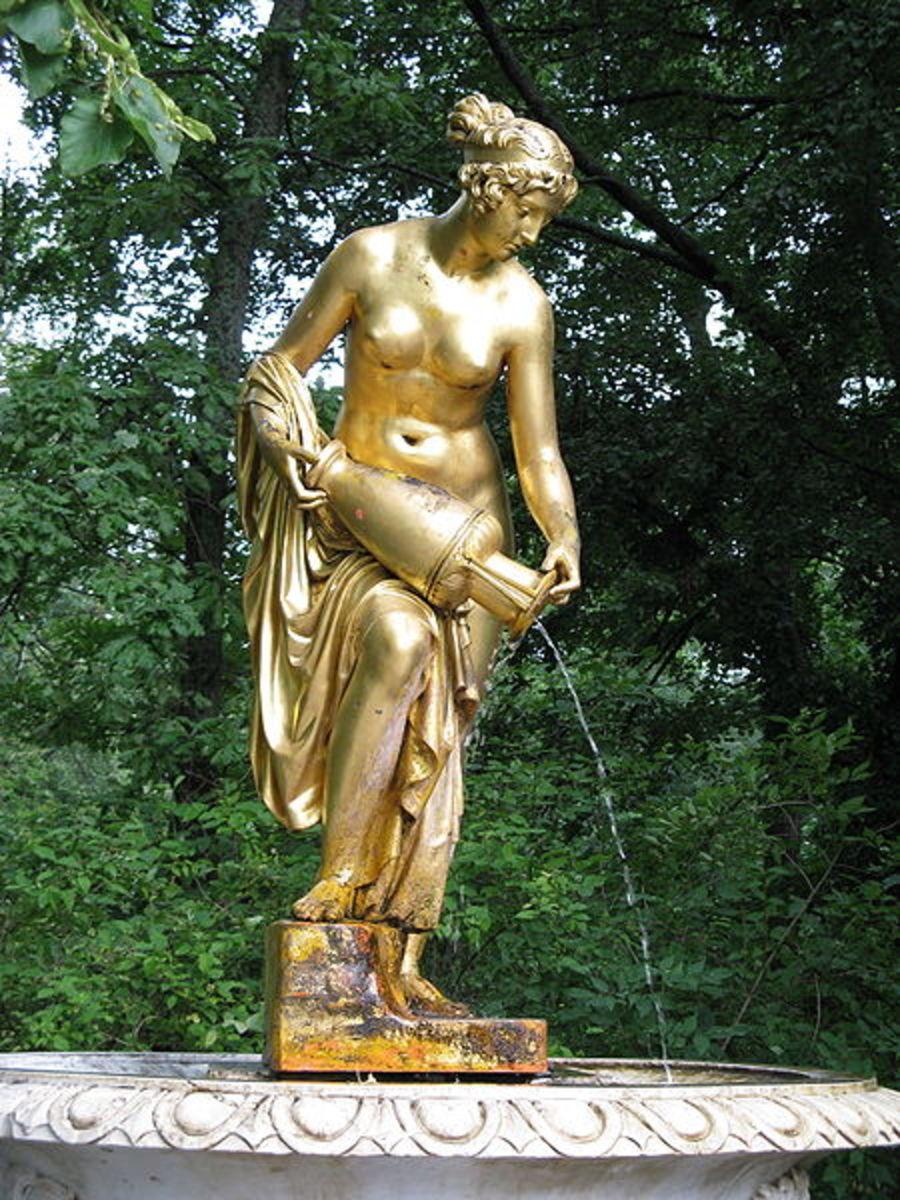 Danaida Fountain of Peterhof
