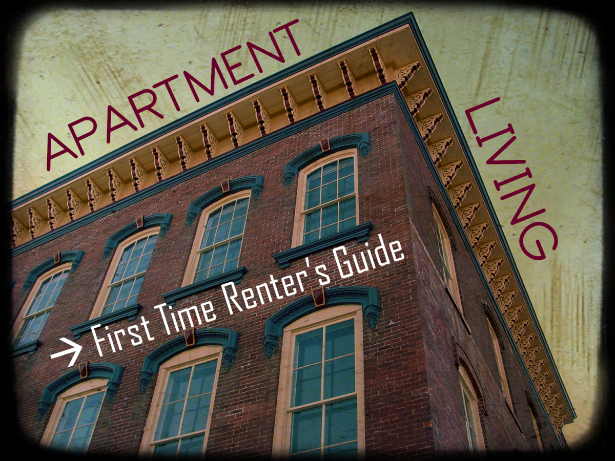 Apartment Living:  First Time Renter's Guide