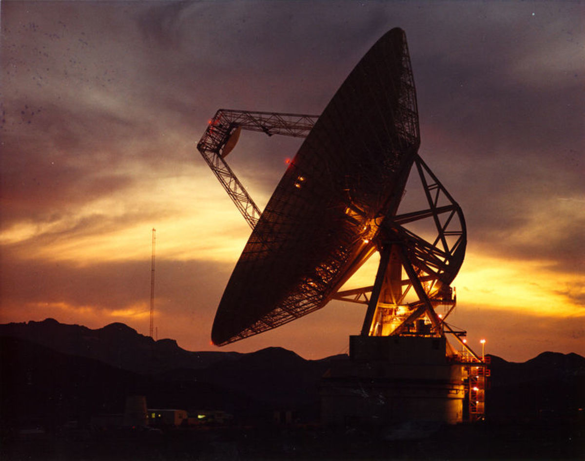 NASA's Deep Space Network provides the radio communications for all NASA's spacecraft. It is also utilized for radio astronomy and radar observations of the solar system and the universe. This communications system uses complex electronic circuit.