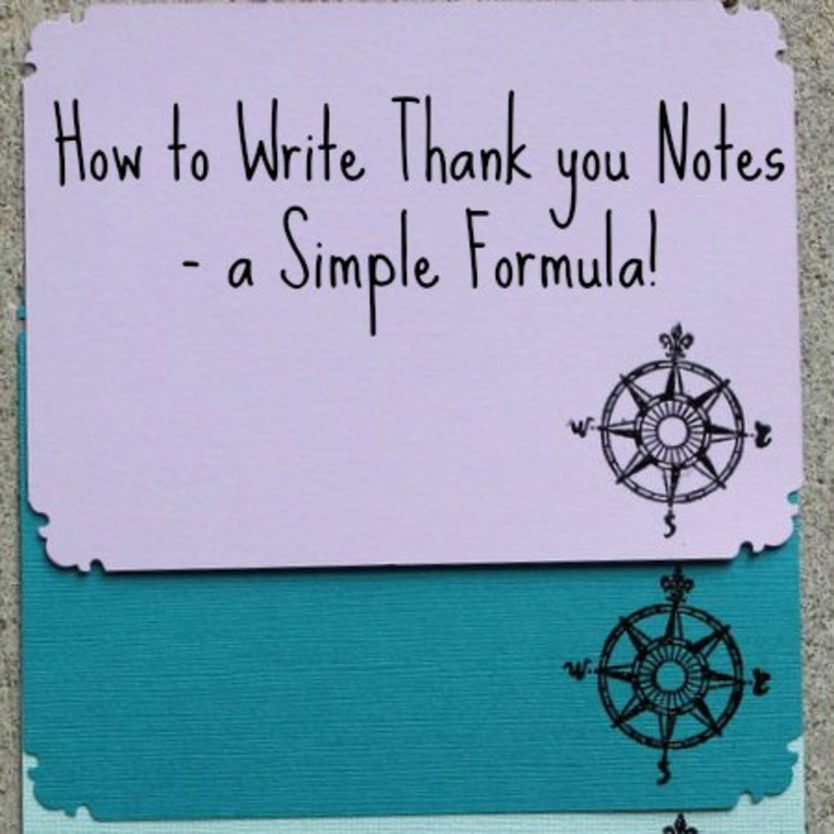 How to write note card