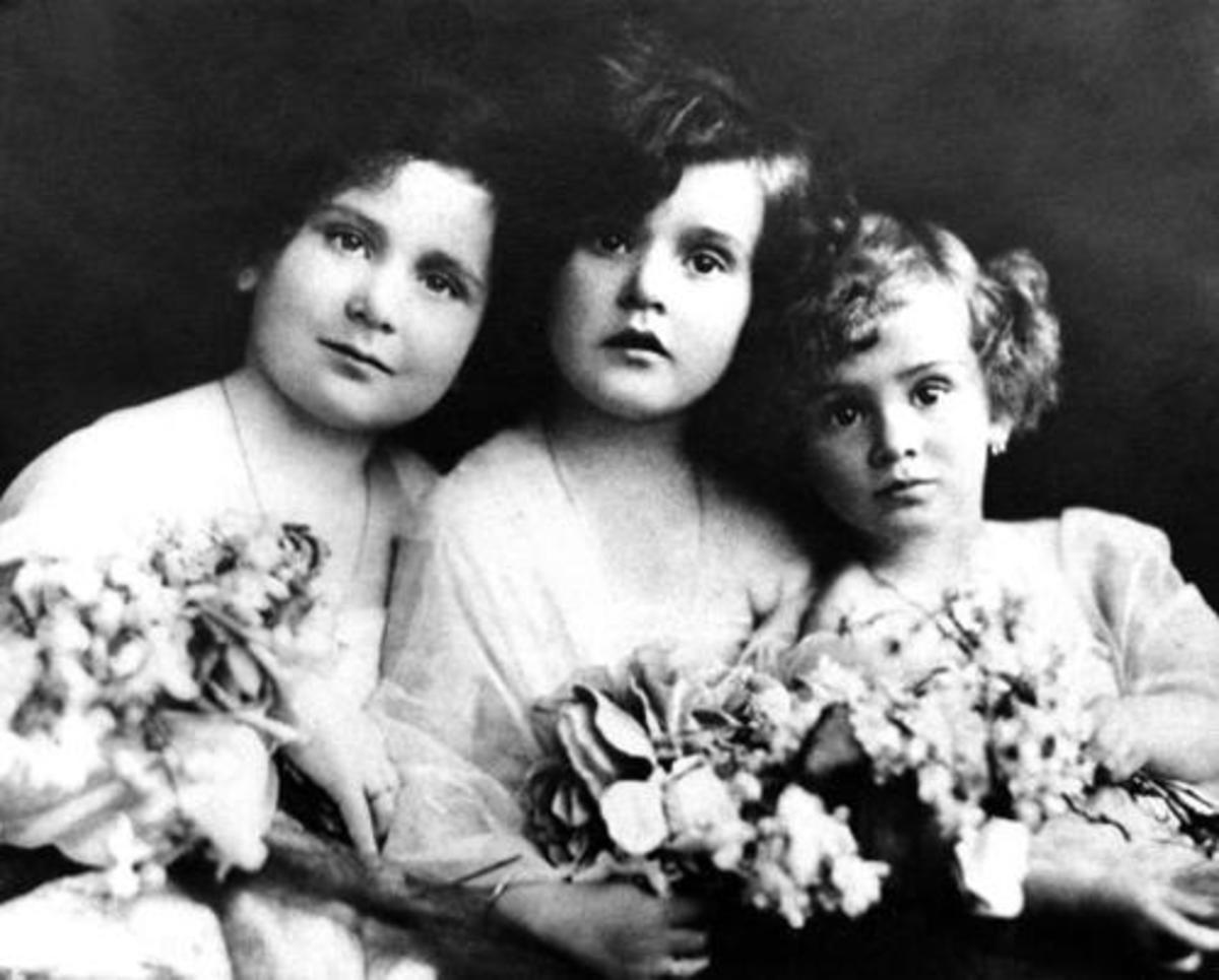 Magda, Zsa Zsa, & Eva