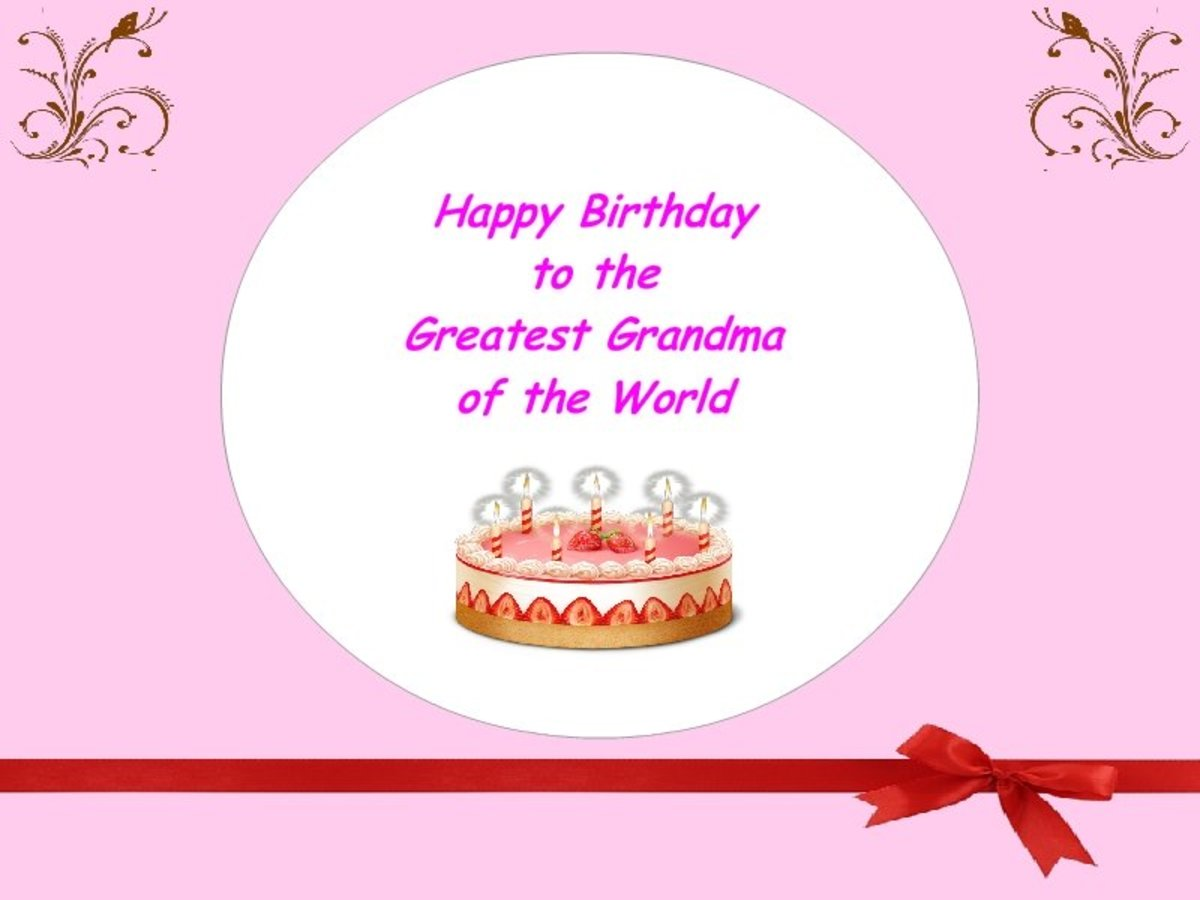Best Happy Birthday Wishes for Grandma