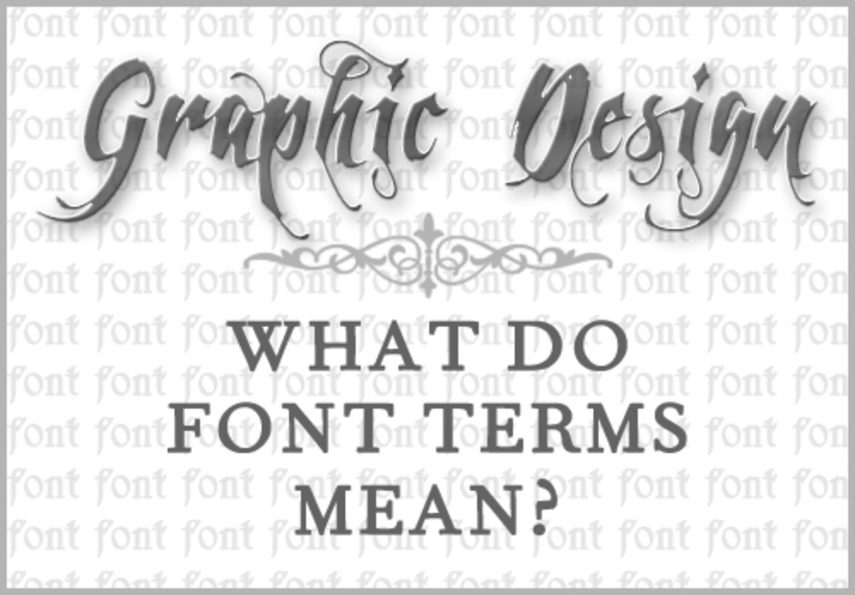 Graphic Design: What Do Font Terms Mean?